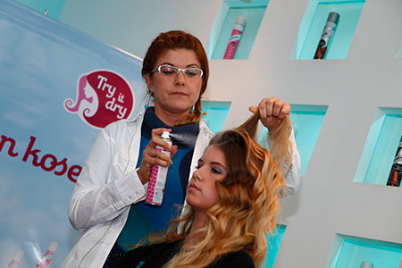 Održan prvi Batiste Try It Dry Hair Show