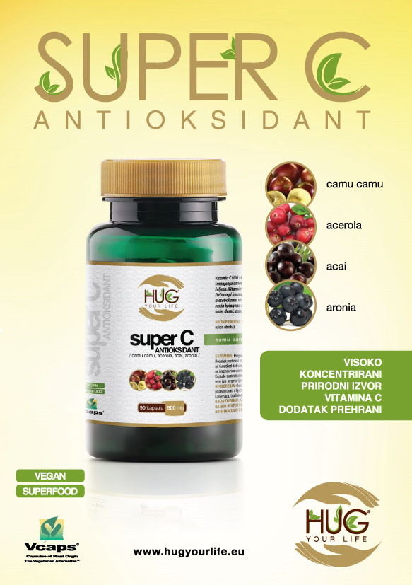 Super C Antioksidant: tvoj adut za zimu