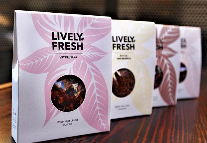 Lively Fresh: Linija artisan čajeva koja brine o okolišu