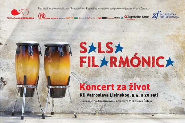 Koncert za život uz Zagrebačku filharmoniju