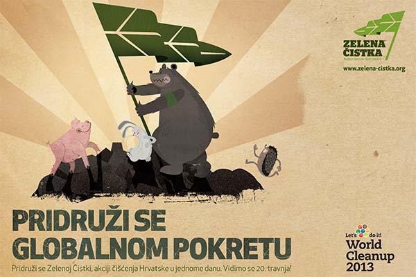 Podrška ekološkoj akciji Zelena čistka