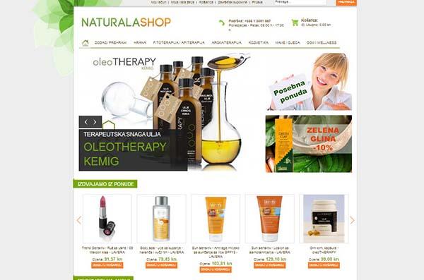 Naturala Shop – priroda u tvojoj košarici