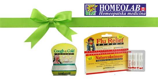 Homeolab daruje 3 poklon paketa!