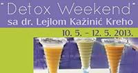 Detoks vikend s dr. Lejlom Kažinić Kreho
