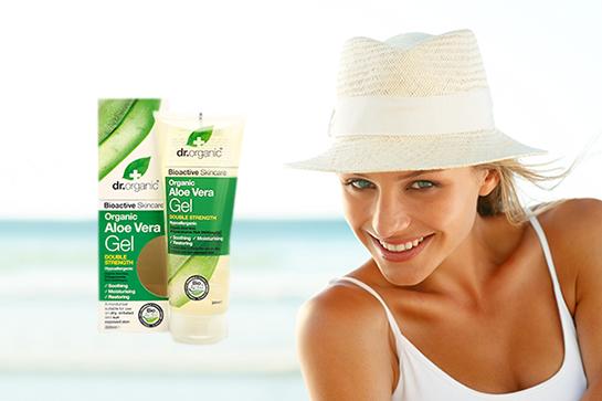 Dr. Organic Aloe Vera - vaša prirodna zaštita od sunca
