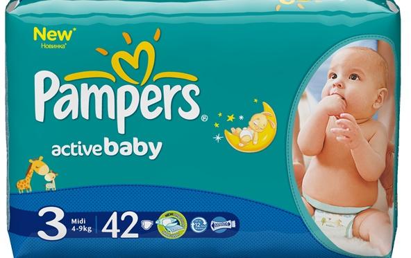 Pampers Active Baby – za raspoloženu i aktivnu bebu