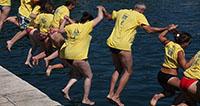 Više od 2.300 ljudi skakalo za Dječji vrtić Latica i Juru Milina
