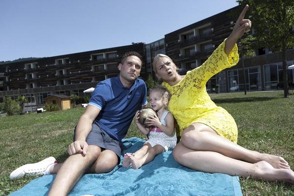 Obiteljska idila Ane Begić Tahiri u Falkensteiner hotelu