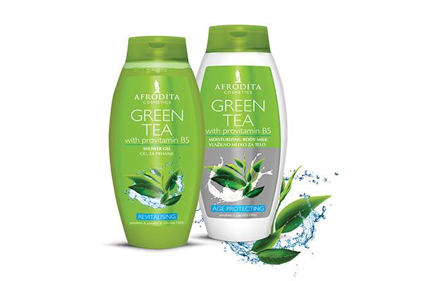 Njega tijela zelenim čajem za savršenu kožu