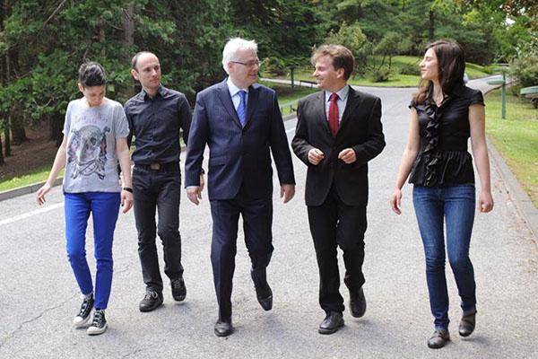 Veganski ručak s predsjednikom Ivom Josipovićem