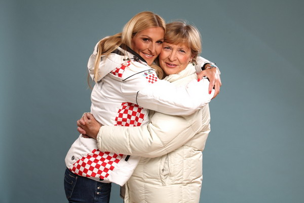 Janica i Marica Kostelić u projektu Hvala ti mama