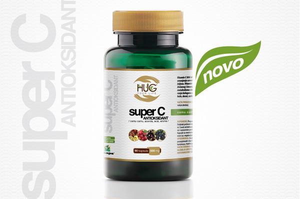 Super C Antioksidant - prirodni izvor C vitamina