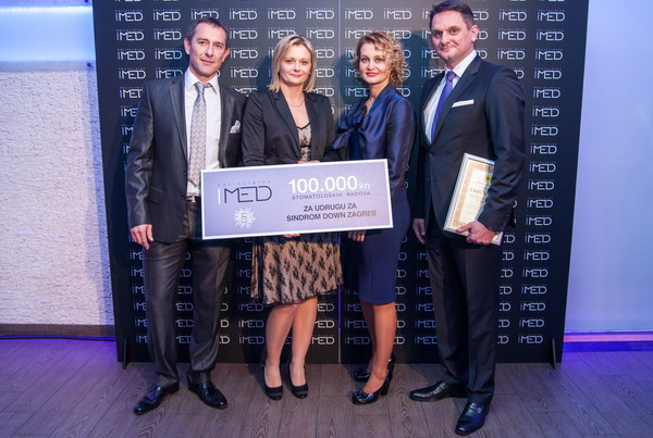 Velikodušnom donacijom IMED proslavio peti rođendan