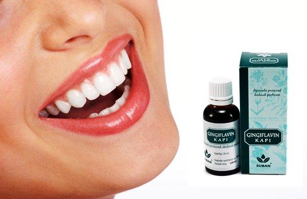 Muči vas parodontoza? Gingiflavin je rješenje!