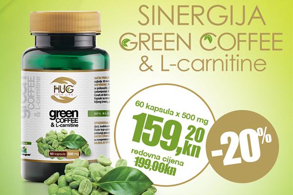 AKCIJA: Hug Your Life zelena kava