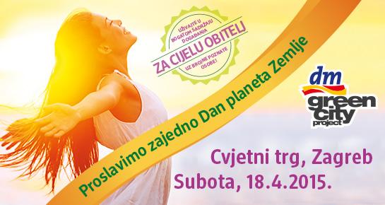 Proslavi Dana planeta Zemlje uz dm green city project