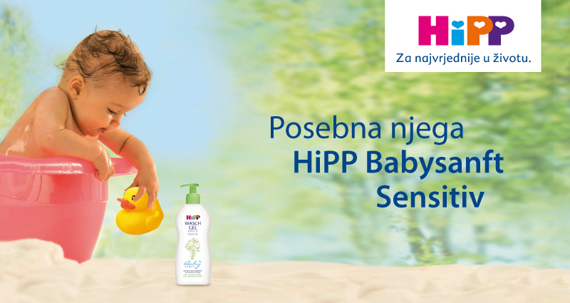 HiPP Babysanft - izuzetno blaga njega za osjetljivu kožu