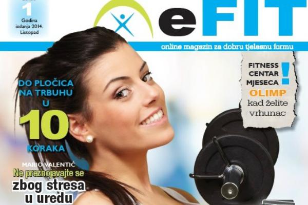 eFIT - online magazin za dobru tjelesnu formu