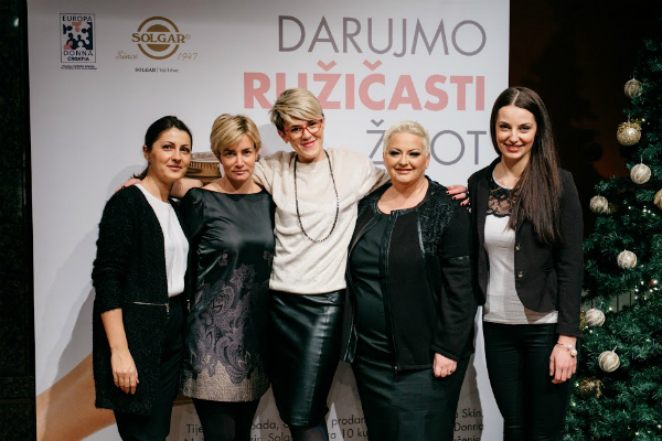 Solgar - donacija udruzi Europa Donna Hrvatska