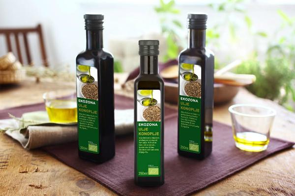 Zdravo ulje konoplje za doručak, ručak i večeru