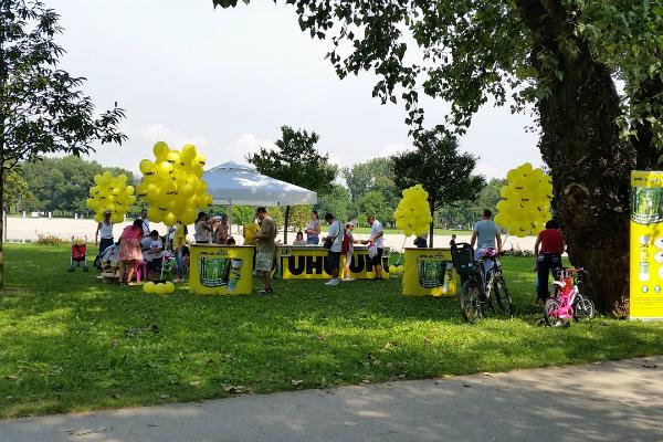 Školarci podržali UHU zelenu inicijativu