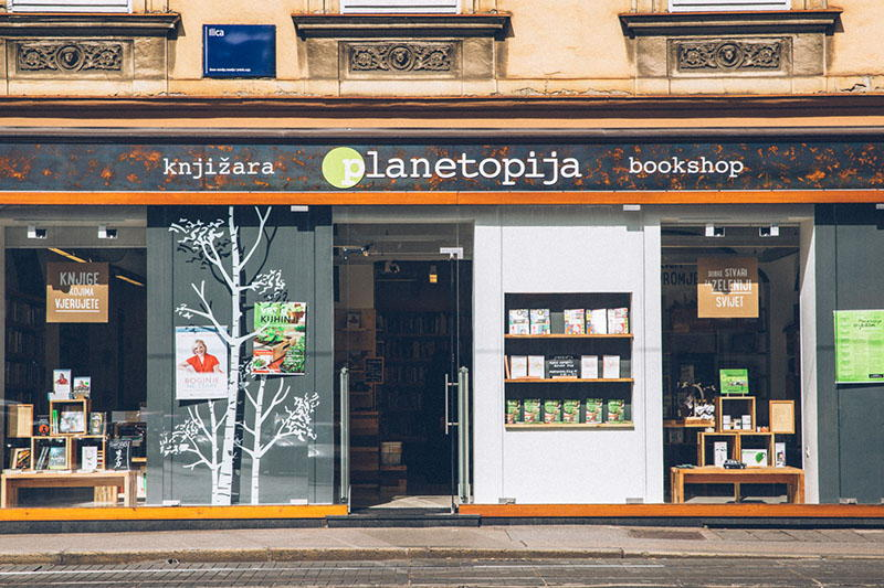Planetopija - nova knjižara u centru Zagreba