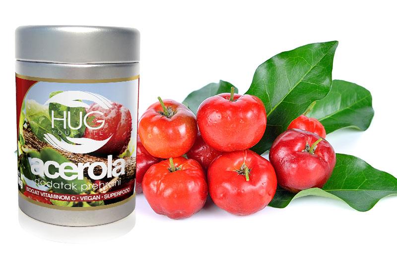 Acerola smoothie – energetska bomba krcata vitaminom C