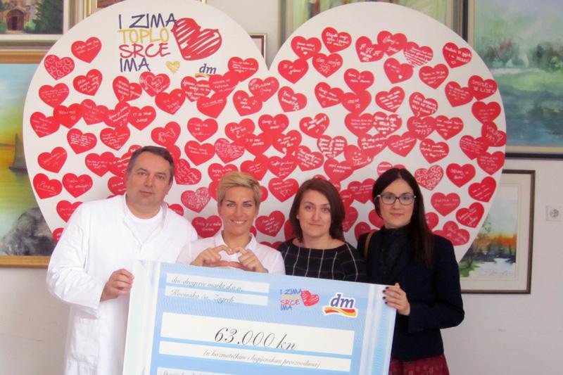 Donacija dm-a malim pacijentima bolnice Gornja Bistra