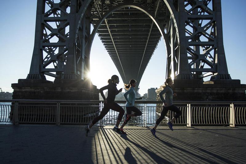 O čemu razmišljanju žene tijekom napornih treninga?