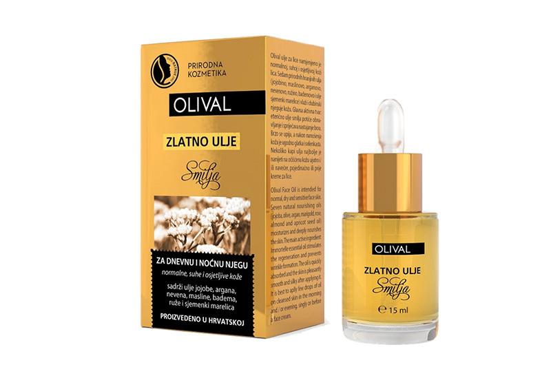 Zlatno ulje smilja za zlatni sjaj vaše kože