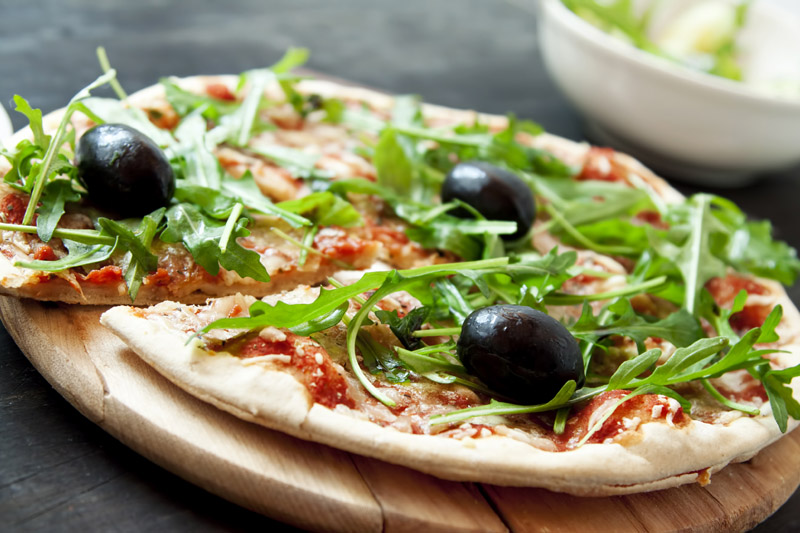Zdrava pizza po receptu dr. Meri Bura