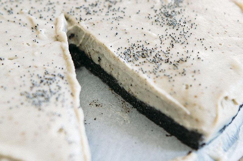 Sirovo i jednostavno - torta od krušaka i maka