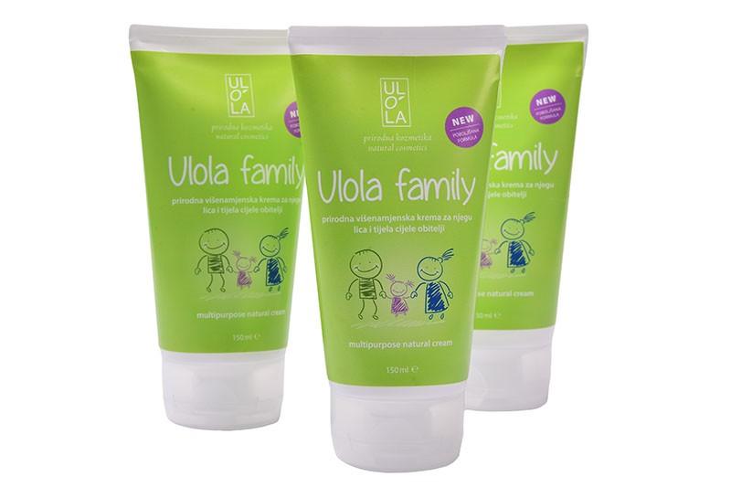 Ulola Family krema - za cijelu obitelj