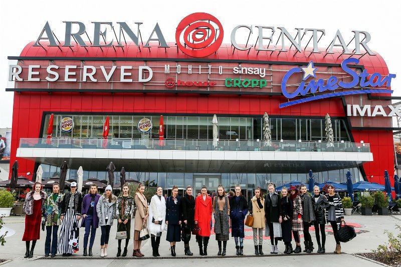Što se nosi ove sezone pokazale su trendseterice na Stilskim igrama Arena Centra