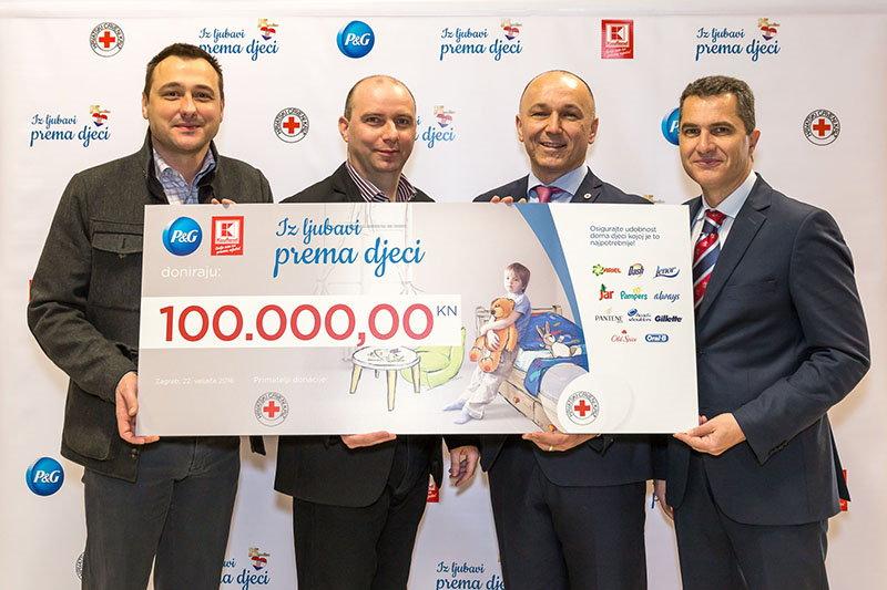 Kaufland donacija Hrvatskom Crvenom križu za djecu u potrebi