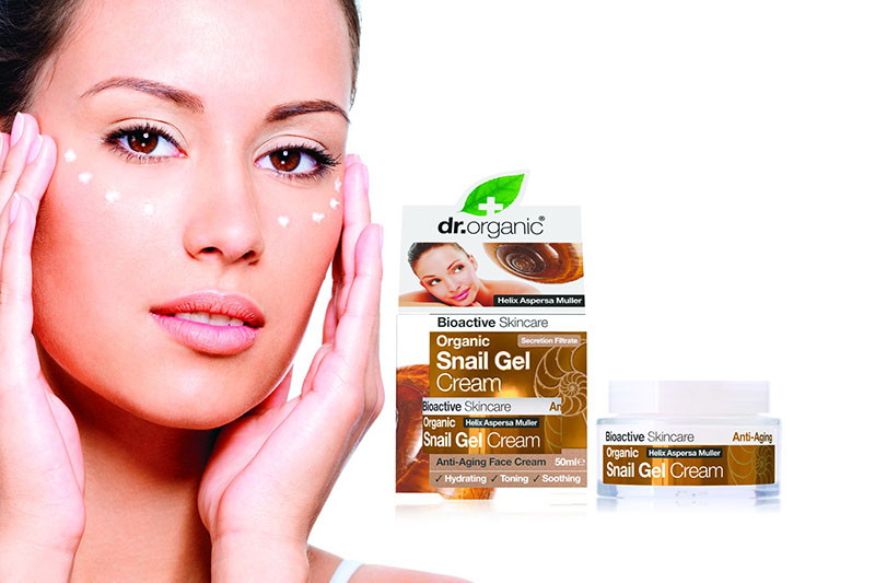 Dr. Organic Snail Gel – revolucionaran proizvod u njezi kože