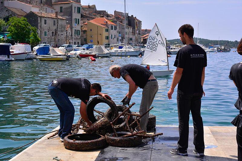 Velikom akcijom čišćenja mora obilježen Dan hrvatskih voda