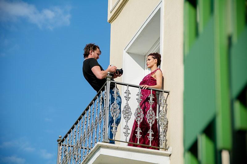 Rimske terme - savršena kulisa za novi spot Ivane Banfić