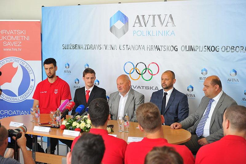 Poliklinika Aviva brine o zdravlju hrvatskih olimpijaca