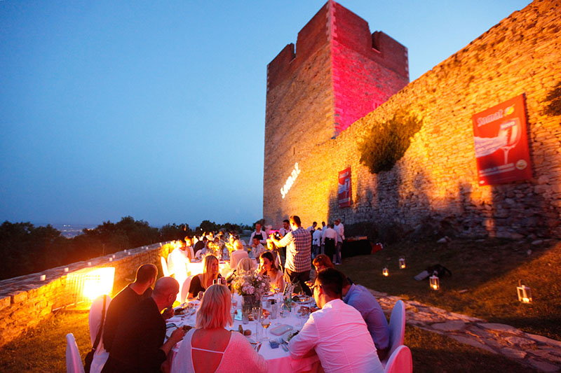 Marin Medak i Somat pripremili vrhunski kulinarski show na kuli Medvedgrad