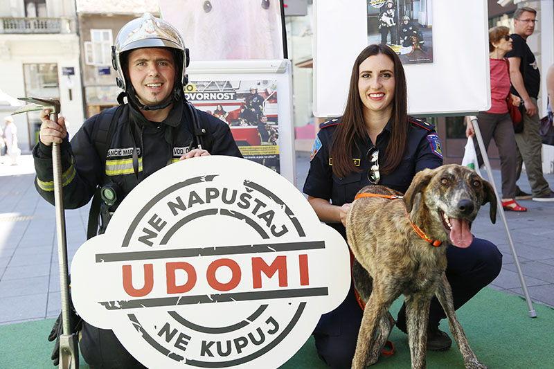 Vatrogasci i Prijatelji životinja poslali poruku: Dosta je neodgovornosti!