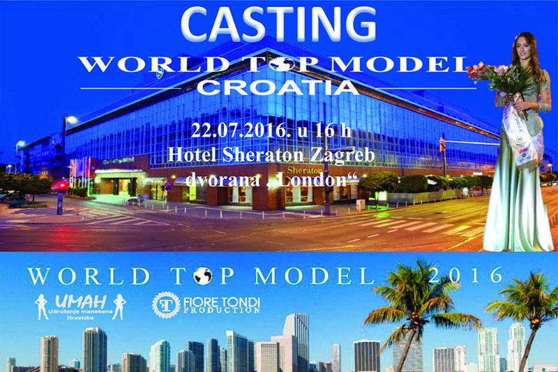 UMAH vodi najboljeg modela u Miami na izbor World Top Model