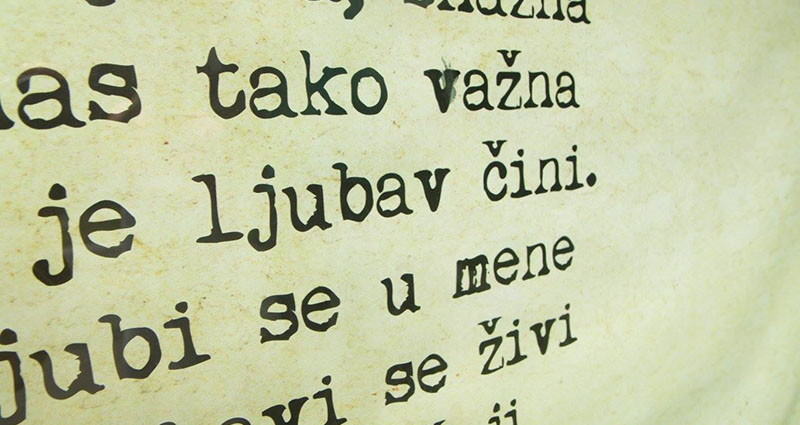 Oda poeziji ili - kad