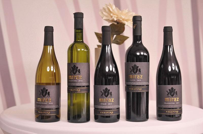 Feravino predstavilo novu etiketu i vina iz premium linije Miraz
