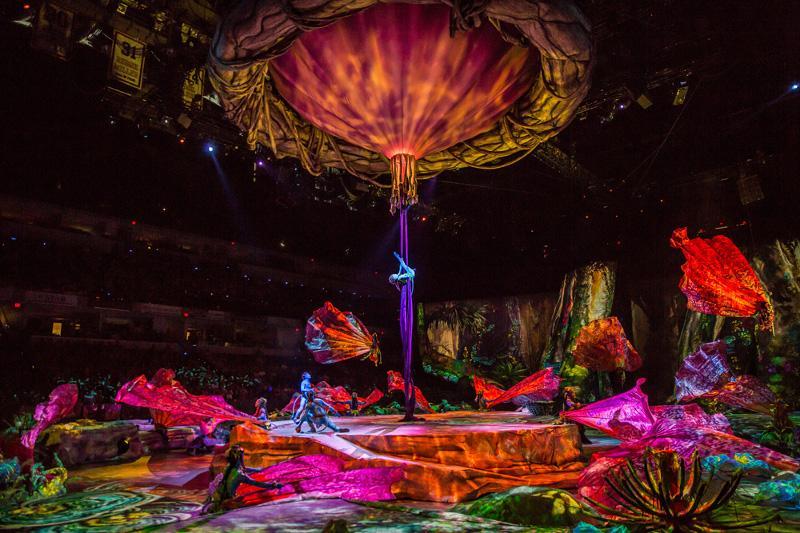 Toruk – Prvi let: Čarolija Avatara u izvedbi Cirque du Soleil