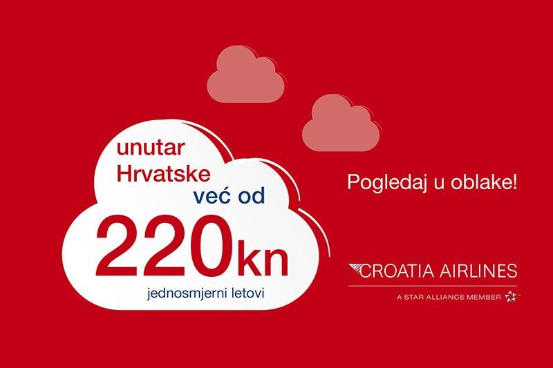 Croatia Airlines: Putujte povoljnije do  Adventa u Zadru, Splitu, Dubrovniku i Puli