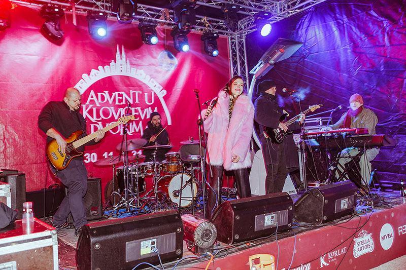 Uz koncert Detoura otvoren Advent u Klovićevim dvorima