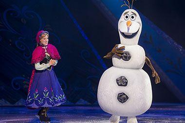 Disney na ledu: Princeze Ana i Elsa dolaze u Arenu