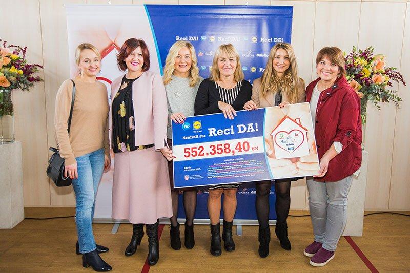 Humanitarna kampanja Reci DA! prikupila pola milijuna kuna za obnovu dječjih domova