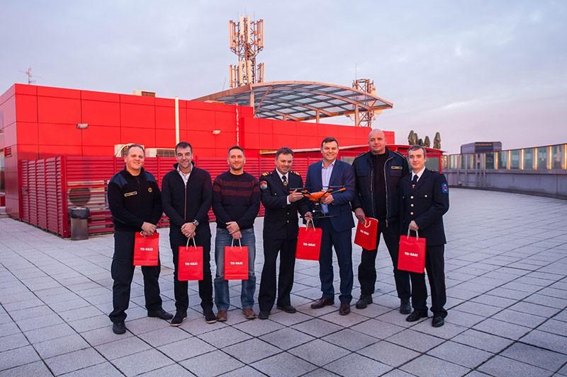 Tele2 donacija dronova za prevenciju požara i sigurnost vatrogasaca